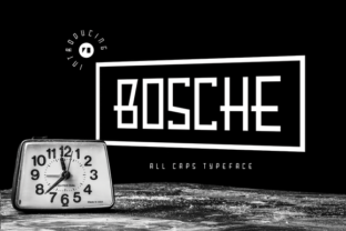 Bosche Typeface Serif Font by Hindia Studio 1