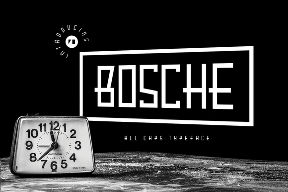Print on Demand: Bosche Serif Font By Hindia Studio