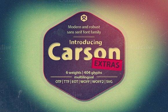 Print on Demand: Carson Extra Sans Serif Font By Quzma Supply Co.