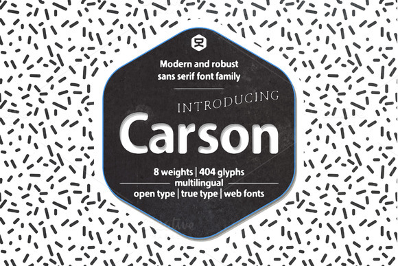 Carson Font By Quzma Supply Co. Image 1