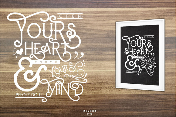 Print on Demand: Carters Display Font By inumocca_type - Image 9