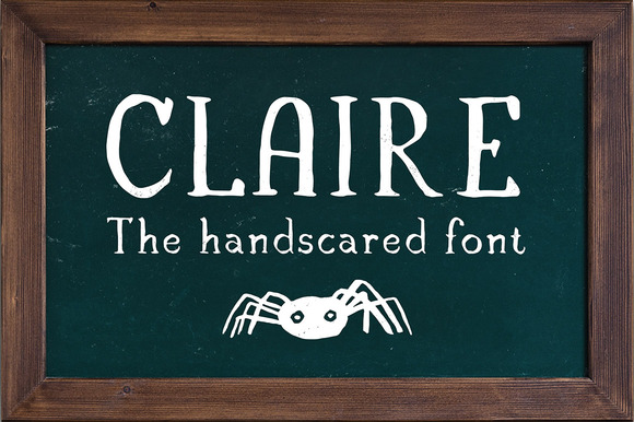 Print on Demand: Claire Serif Font By vitekprchal