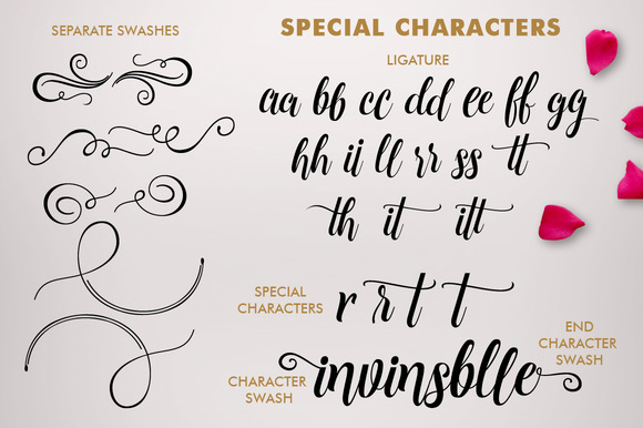 Print on Demand: Cleopatra Script & Handwritten Font By Mercurial - Image 8
