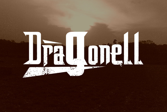 Dragonell Display Font By Gblack Id