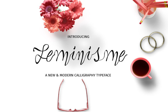 Print on Demand: Feminisme Script & Handwritten Font By Ajir
