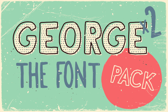 Print on Demand: George & Francis Family Sans Serif Font By vitekprchal
