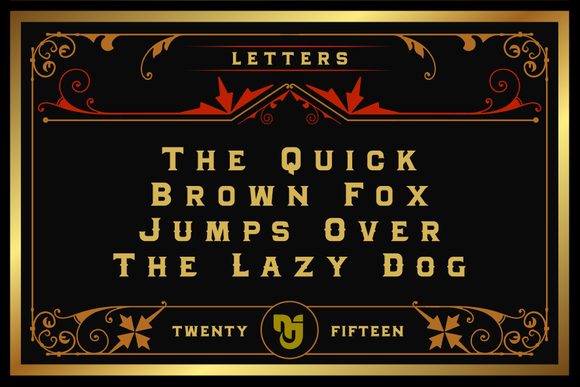 Print on Demand: Granada Display Font By Mikrojihad Typefounder - Image 3