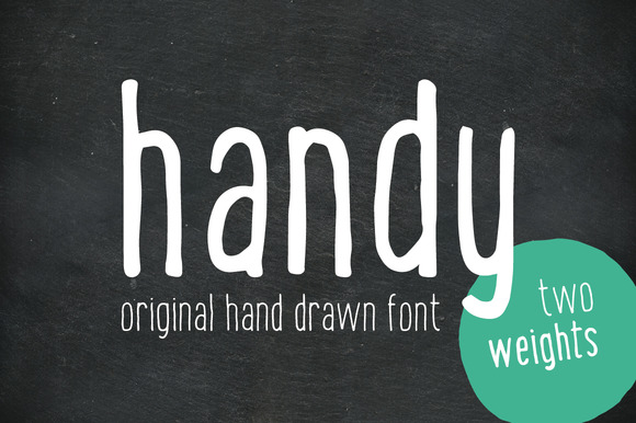 Print on Demand: Handy Sans Serif Font By vitekprchal