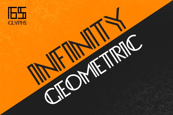 Print on Demand: Infinity Display Font By SNK