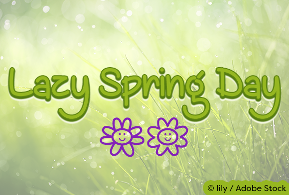 Print on Demand: Lazy Spring Day Script & Handwritten Font By Misti - Image 1