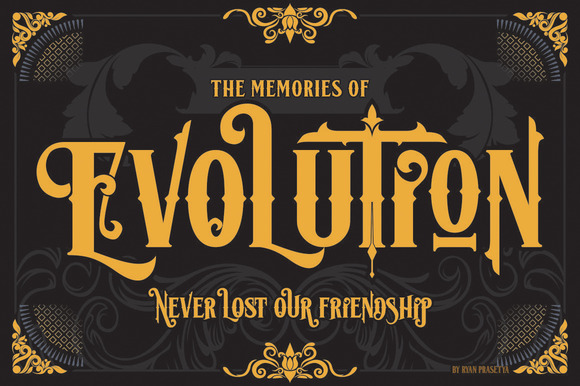 Lost Volution Font By LostvolType
