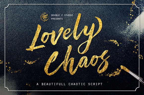 Lovely Chaos Font By Double Z Studio