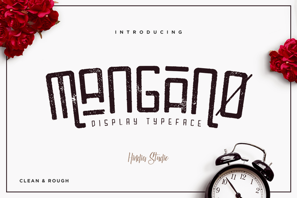 Print on Demand: Mangano Serif Font By Hindia Studio - Image 1