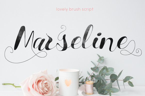 Print on Demand: Marseline Script & Handwritten Font By Mellow Design Lab