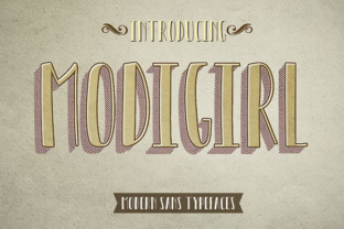 Modigirl Sans Font in Font Subscription 1