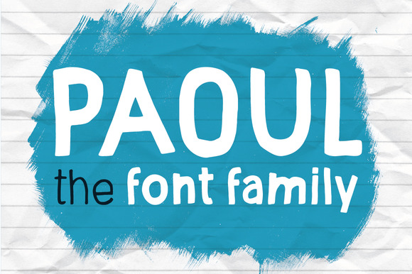 Print on Demand: Paoul Sans Serif Font By vitekprchal