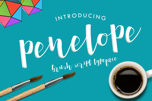 Print on Demand: Penelope Script & Handwritten Font By Mercurial
