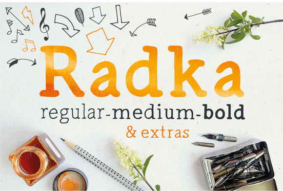 Print on Demand: Radka Serif Font By vitekprchal
