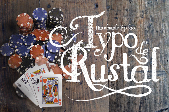 Print on Demand: Rustal Typo Display Font By Leonard Posavec