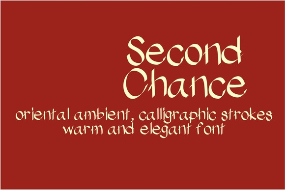 Print on Demand: Second Chance Serif Font By Carolina Mejia