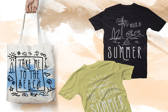 Print on Demand: Summers Script & Handwritten Font By inumocca_type - Image 3