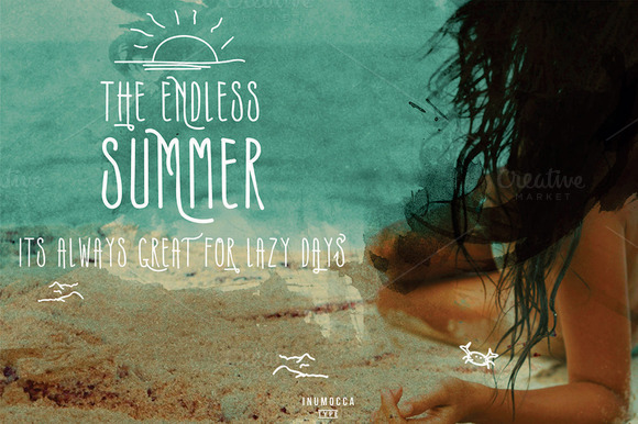 Print on Demand: Summers Script & Handwritten Font By inumocca_type - Image 5