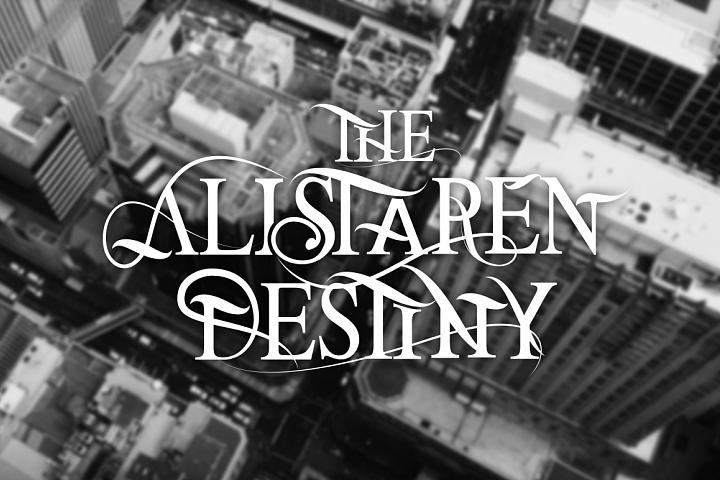 Print on Demand: The Alistaren Serif Font By Leonard Posavec