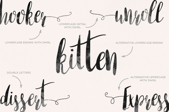 Print on Demand: Amber Light Script & Handwritten Font By Mellow Design Lab - Image 4