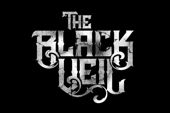 Print on Demand: The Black Veil Family Blackletter Font By Mikrojihad Typefounder
