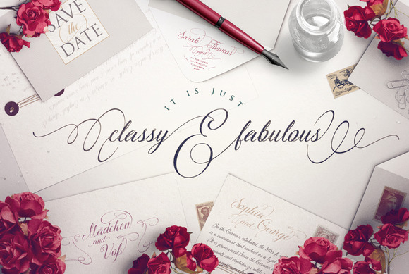 Print on Demand: The Secret Script & Handwritten Font By Blessed Print - Image 3