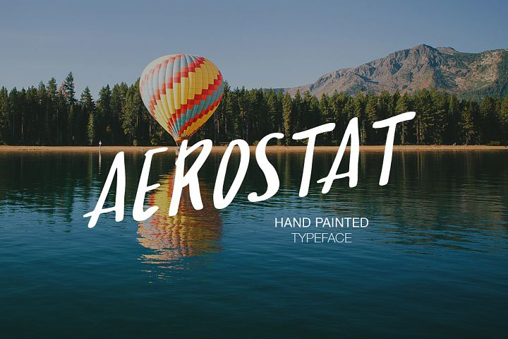 Print on Demand: Aerostat Script & Handwritten Font By Dmitrii Chirkov