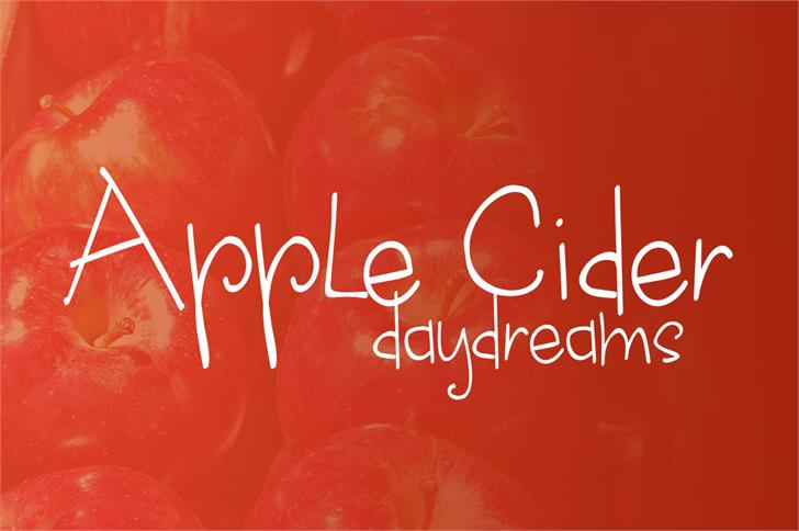 Print on Demand: Apple Cider Daydreams Script & Handwritten Font By brittneymurphydesign