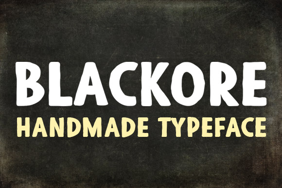 Print on Demand: Blackore Display Font By Deepak Dogra
