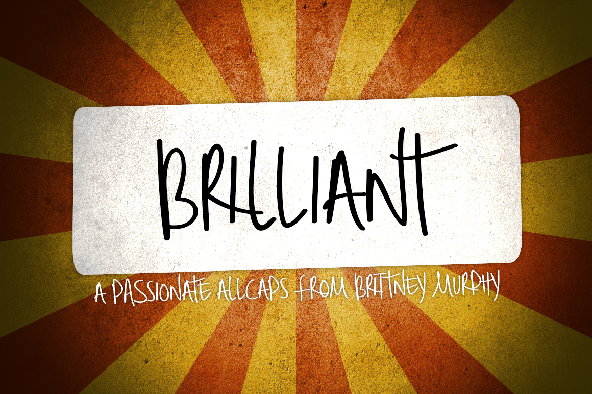 Brilliant Font By brittneymurphydesign Image 1