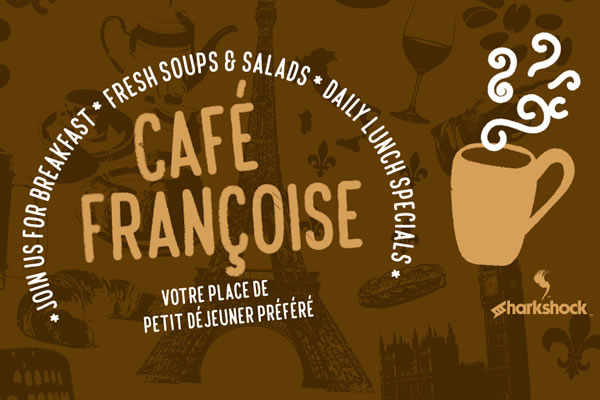 Print on Demand: Café Françoise Display Font By Sharkshock