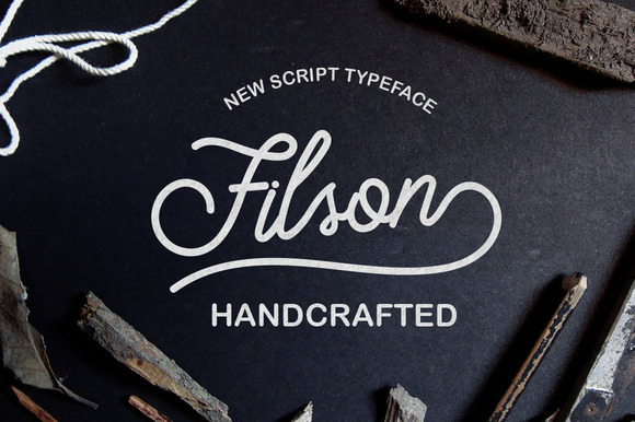 Print on Demand: Filson Script & Handwritten Font By Jokiranta - Image 1
