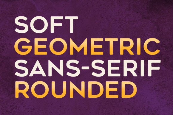 Print on Demand: Geometos Rounded Sans Serif Font By Graphite - Image 3