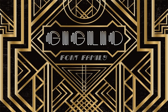 Print on Demand: Giglio Display Font By Anastasiia Macaluso