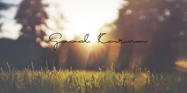 Print on Demand: Good Karma Script & Handwritten Font By Roland Hüse Design