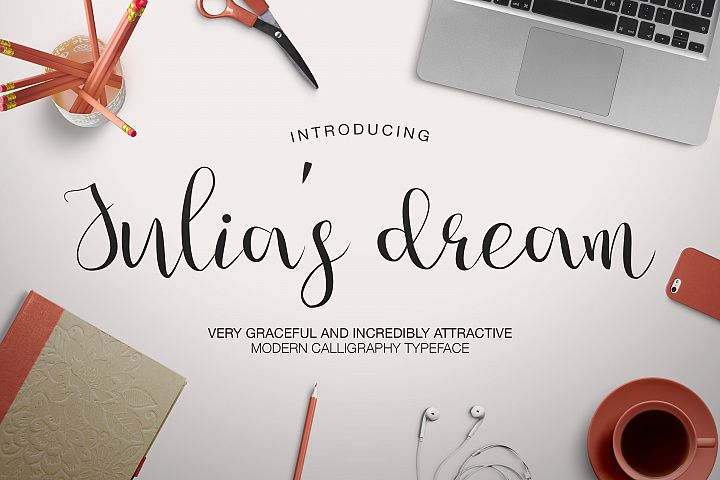 Download Free Julia S Dream Font By Dmitrii Chirkov Creative Fabrica SVG Cut Files
