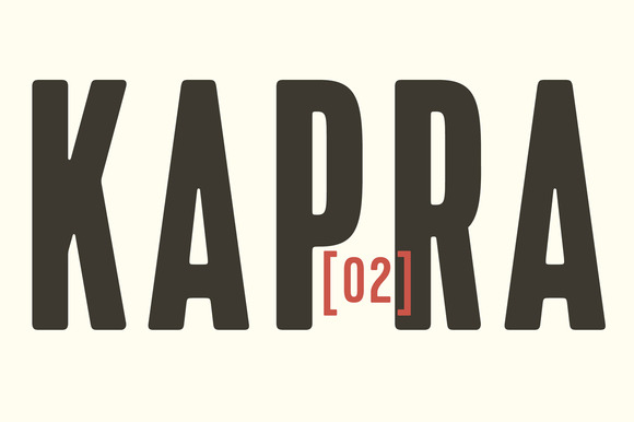 Print on Demand: Kapra Sans Serif Font By TypoForge