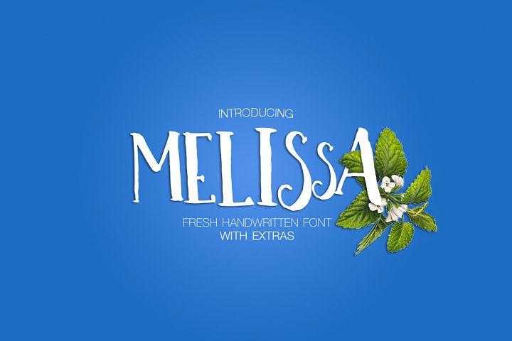 Print on Demand: Melissa Script & Handwritten Font By Dmitrii Chirkov