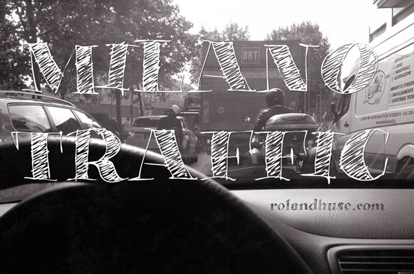 Print on Demand: Milano Traffic Serif Font By Roland Hüse Design