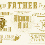 Puna Font by Adhreza foundry in font bundle subscription service by Creative Fabrica 2