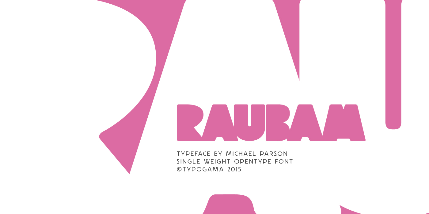 Print on Demand: Raubam Display Font By Typogama