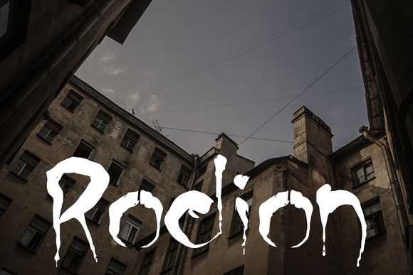 Print on Demand: Rodion Display Font By Anastasiia Macaluso