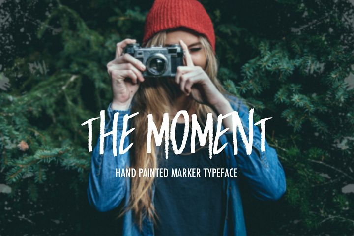 Print on Demand: The Moment Display Font By Dmitrii Chirkov - Image 1