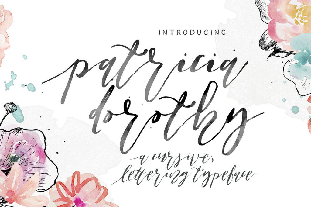 Print on Demand: Patricia Dorothy Script & Handwritten Font By Blue Robin Design Shop