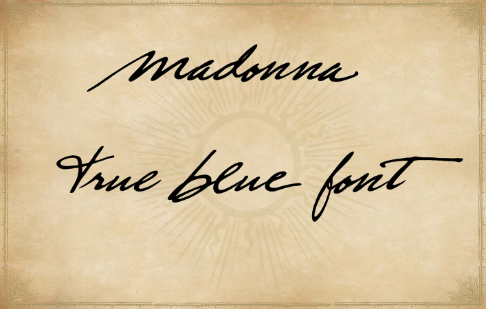 True Blue Font By Xpeehdroox Image 1