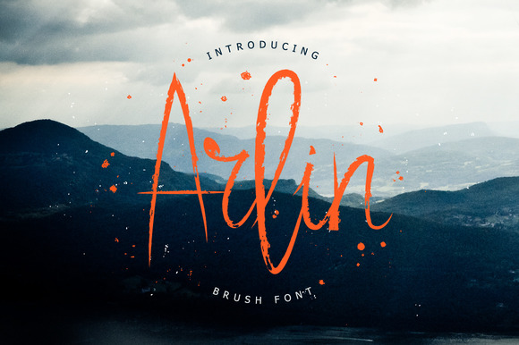 Print on Demand: Arlin Script & Handwritten Font By ChekArt